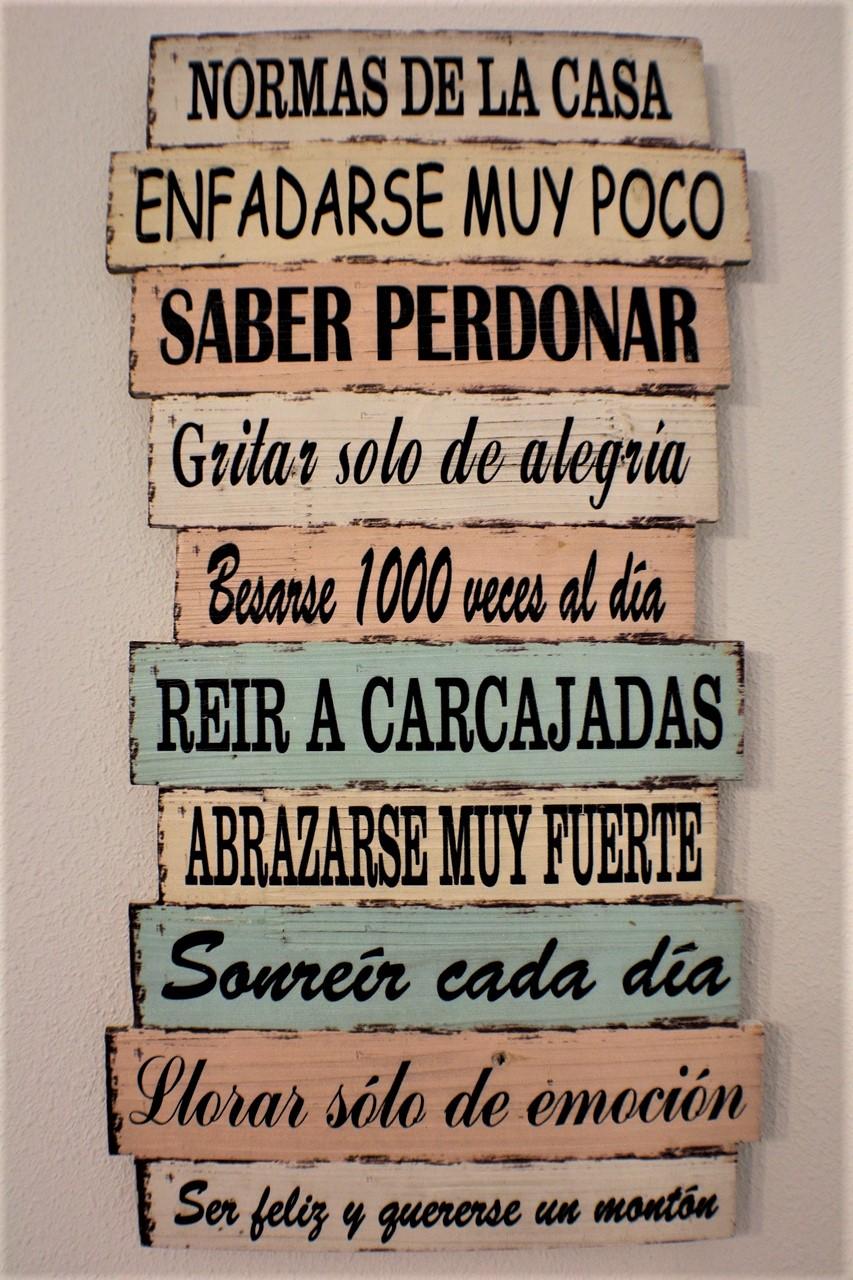 Normas de la casa villa merenciana for Normas de la casa decoracion